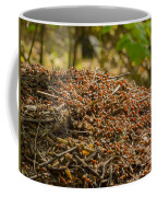 Anthill In Forest Coffee Mug