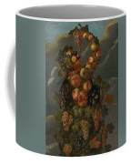 Anthropomorphic Allegory Of Autumn Coffee Mug