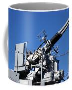 Anti Aircraft Turret Defense Guns On A Navy Ship Coffee Mug