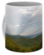 Anticrepuscular Rays On The Blue Ridge Parkway Coffee Mug