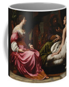 Antiochus Prince Of Syria And Stratonice His Stepmother Coffee Mug
