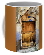 Antique Brown Door Coffee Mug