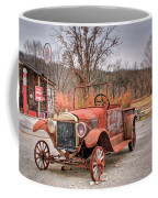 Antique Car And Filling Station 1 Coffee Mug