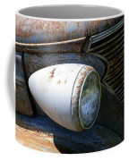 Antique Car Headlight Coffee Mug