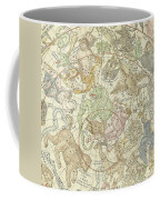Antique Celestial Map Coffee Mug