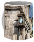 Antique Clock  Edenton North Carolina Coffee Mug