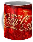 Antique Coca-cola Cooler Coffee Mug