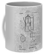 Antique Coffee Percolator Patent Coffee Mug