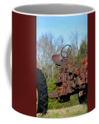 Antique Farmall Tractor 4a Coffee Mug