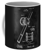 Antique Fishing Reel Patent Coffee Mug