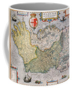 Antique Map Of Ireland Coffee Mug by  English School