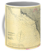 Antique Maps - Old Cartographic Maps - Antique Map Of Lompoc Landing, California, 1888 Coffee Mug