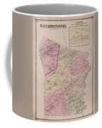 Antique Maps - Old Cartographic Maps - Antique Map Of Sudbury, Canada, 1875 Coffee Mug