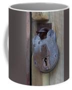 Antique Padlock 1 Coffee Mug