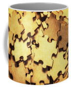 Antique Puzzle Of Missing Links Coffee Mug