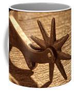 Antique Star Spur Coffee Mug