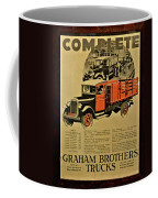 Antique Truck Poster Coffee Mug