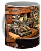 Antique Typewriter Coffee Mug