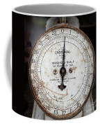 Antique Universal Household Scale Coffee Mug