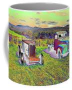 Antique Vehicles Coffee Mug