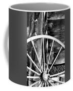 Antique Wagon Wheel Coffee Mug