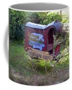 Antique Wine Wagon Coffee Mug