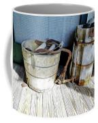 Antique Wooden Buckets Coffee Mug