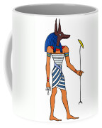 Anubis Coffee Mug by Michal Boubin