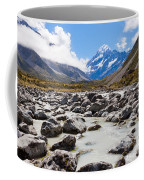 Aoraki Mount Cook Hooker Valley Southern Alps Nz Coffee Mug