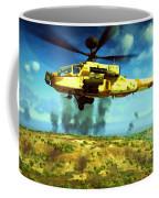 Apache Ai Assault - Operation Desert Wolves Coffee Mug