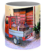 Ape Truck In Tuscany Coffee Mug
