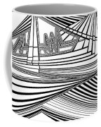 Apocalyptic Ringside View Coffee Mug