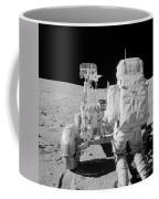 Apollo 16 Astronaut Reaches For Tools Coffee Mug
