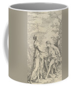 Apollo And The Cumaean Sibyl Coffee Mug