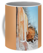 Apostle Islands Waterfall Portrait Coffee Mug