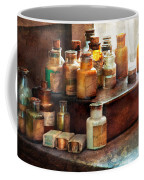 Apothecary - Chemical Ingredients  Coffee Mug by Mike Savad