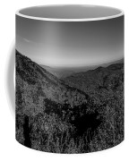 Appalachian Mountains From Mount Mitchell, The Highest Point In  Coffee Mug
