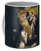 Apparition Of The Virgin To Saint Bernardo  Coffee Mug