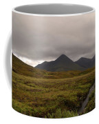 Appealing Scenic Landscacpe In Cuillen Hills Scotland  Coffee Mug