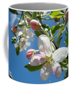 Apple Blossoms Art Prints Blue Sky Spring Baslee Troutman Coffee Mug