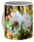 Apple Blossoms With Honey Bee Coffee Mug