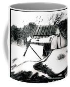 Apple Farm In Winter Coffee Mug