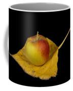 Apple Harvest Autumn Leaf Coffee Mug