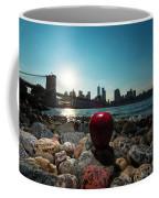 Apple On The Rocks Coffee Mug
