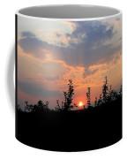 Apple Orchard Silhouette Coffee Mug