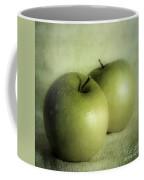Apple Painting Coffee Mug by Priska Wettstein