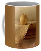 Apple Pear On A Table Coffee Mug by Priska Wettstein