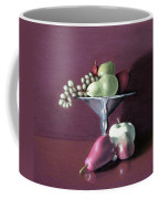 Apple  Pears And Grapes Coffee Mug