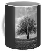 Apple Tree Bw Coffee Mug