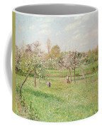 Apple Trees At Gragny Coffee Mug by Camille Pissarro